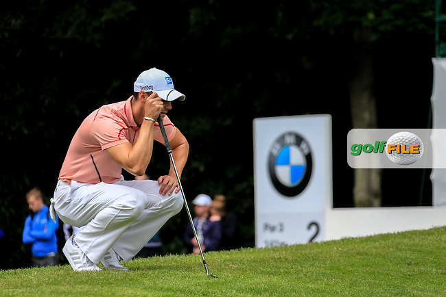 Martin Kaymer (GER) during the final round of the 2016 BMW PGA Championship. Wentworth Golf Club, Virginia Water, Surrey, UK. 29/05/2016.<br /> Picture Fran Caffrey / Golffile.ie<br /> <br /> All photo usage must carry mandatory copyright credit (&copy; Golffile | Fran Caffrey)