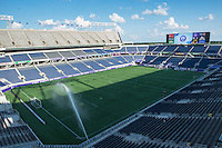 Orlando, Florida - Sunday, May 14, 2016: Camping World Stadium prior to the start of a National Women's Soccer League match between Orlando Pride and New York Flash at Camping World Stadium.