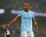 Vincent Kompany of Manchester City during the Premier League match at the Eithad Stadium, Manchester. Picture date 21st August 2017. Picture credit should read: Simon Bellis/Sportimage