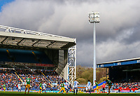 A general view of the action inside Ewood Park, home of Blackburn Rovers FC<br /> <br /> Photographer Alex Dodd/CameraSport<br /> <br /> The EFL Sky Bet Championship - Blackburn Rovers v Preston North End - Saturday 9th March 2019 - Ewood Park - Blackburn<br /> <br /> World Copyright © 2019 CameraSport. All rights reserved. 43 Linden Ave. Countesthorpe. Leicester. England. LE8 5PG - Tel: +44 (0) 116 277 4147 - admin@camerasport.com - www.camerasport.com