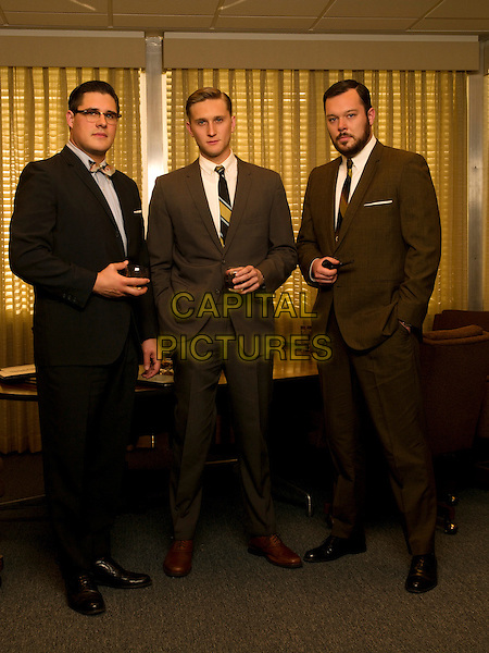 RICH SOMMER, AARON STATON, MICHAEL GLADIS<br /> in Mad Men (Season 2)<br /> *Filmstill - Editorial Use Only*<br /> CAP/FB<br /> Image supplied by Capital Pictures