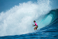 Namotu Island Resort, Namotu, Fiji. (Thursday May 29, 2014) Sally Fitzgibbons (AUS) –  The Fiji Women's Pro, Stop No. 5 of 10 on the 2014  Women's World Championship Tour (WCT) was won today by Australian Sally Fitzgibbons who defeated five times World Surfing Champion Stephanie Gilmore (AUS) in the 35 minute final. The last day of the event was held at Cloudbreak in solid 6'-8' surf, possibly the largest surf an Women's World Tour event ah ever been run. The final day saw the remaining heats of Round 4 completed then right through to the final. Photo: joliphotos.com