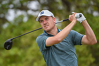 Jordan Spieth (USA) watches his tee shot on 2 during day 1 of the Valero Texas Open, at the TPC San Antonio Oaks Course, San Antonio, Texas, USA. 4/4/2019.<br /> Picture: Golffile | Ken Murray<br /> <br /> <br /> All photo usage must carry mandatory copyright credit (© Golffile | Ken Murray)