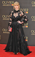 Hannah Arterton at the Olivier Awards 2018, Royal Albert Hall, Kensington Gore, London, England, UK, on Sunday 08 April 2018.<br /> CAP/CAN<br /> &copy;CAN/Capital Pictures<br /> CAP/CAN<br /> &copy;CAN/Capital Pictures