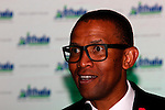 DURBAN - 31 March 2016 - Andile Khumalo, the co-founder of the Chief Investment Officer of MSG Afrika Investment Holdings and managing director of the radio station Power FM, speaks at the  at the Ithala Business Achhiever awards ceremony in Durban. Picture: Allied Picture Press/APP