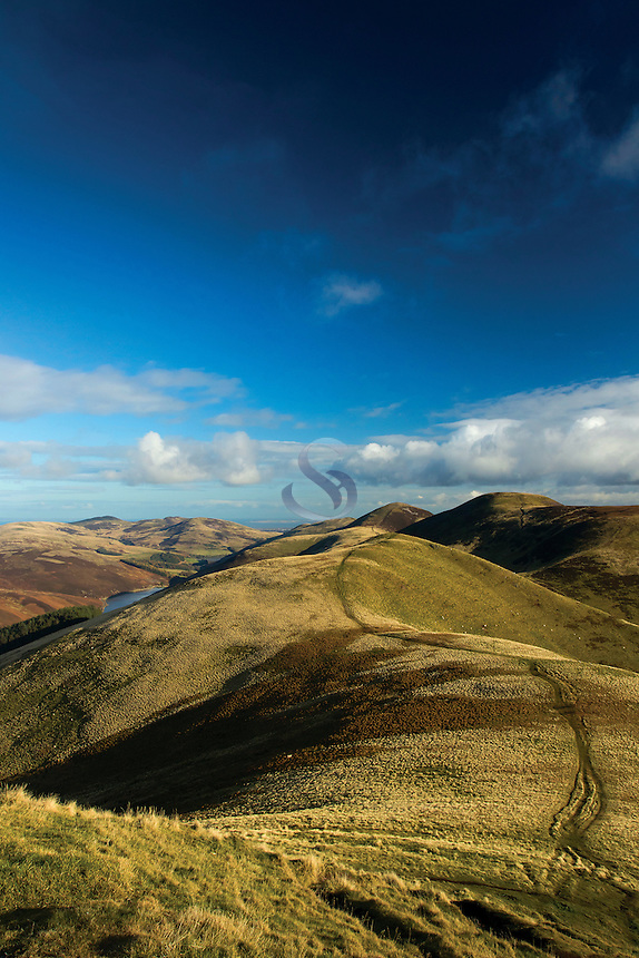 East Kip and Scald Law from West Kip, The Pentland Hills, The Pentland Hills Regional Park, Lothian