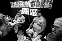 tatuaggi, salone del tatuaggio, Bologna 1993