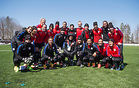 USWNT Training, April 5, 2016