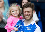 St Johnstone v Ross County…12.05.18…  McDiarmid Park    SPFL<br />Murray Davidson and daughter Summer<br />Picture by Graeme Hart. <br />Copyright Perthshire Picture Agency<br />Tel: 01738 623350  Mobile: 07990 594431
