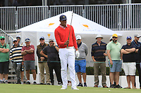 Tony Finau (USA) on the 10th fairway during the First Round - Four Ball of the Presidents Cup 2019, Royal Melbourne Golf Club, Melbourne, Victoria, Australia. 12/12/2019.<br /> Picture Thos Caffrey / Golffile.ie<br /> <br /> All photo usage must carry mandatory copyright credit (© Golffile | Thos Caffrey)