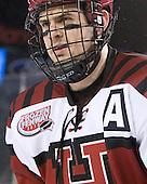 Alex Killorn (Harvard - 19) - The Union College Dutchmen defeated the Harvard University Crimson 2-0 on Friday, January 13, 2012, at Fenway Park in Boston, Massachusetts.