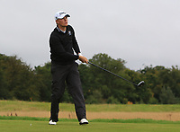 Hannes Ronneblad (SWE) on the 11th tee during Round 2 of the Bridgestone Challenge 2017 at the Luton Hoo Hotel Golf &amp; Spa, Luton, Bedfordshire, England. 08/09/2017<br /> Picture: Golffile | Thos Caffrey<br /> <br /> <br /> All photo usage must carry mandatory copyright credit     (&copy; Golffile | Thos Caffrey)
