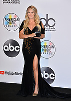 LOS ANGELES, CA. October 09, 2018: Carrie Underwood at the 2018 American Music Awards at the Microsoft Theatre LA Live.<br /> Picture: Paul Smith/Featureflash