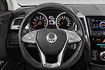 Car pictures of steering wheel view of a 2015 Ssangyong Tivoli Quartz 5 Door Suv Steering Wheel