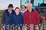 ENTERANTS: Enterants in the Ballyheigue Ploughling competition on Sunday in Ballyheigue, l-r: Johnny McCarthy (Judge) Kanturk, Lorcan Bergin, Martina and Eamon Flynn (Causeway)................