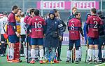 AMSTELVEEN - coach Carlos Castano HCKZ)  tijdens de hoofdklasse competitiewedstrijd mannen, Amsterdam-HCKC (1-0).  COPYRIGHT KOEN SUYK