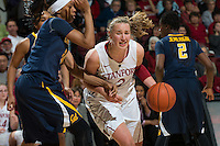 STANFORD, CA - The Stanford Cardinal takes on rival Cal at Maples Pavilion on the Stanford Campus.