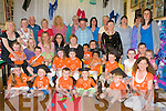 YOUNG GRADUITES: The students, teachers and parents of Blennerville Community Preschool enjoying their graduation ceremony at St Pat's GAA Hall, Blennerville on Thursday.
