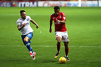 Jamie Mascoll of Charlton Athletic in action during Charlton Athletic vs Portsmouth, Checkatrade Trophy Football at The Valley on 7th November 2017