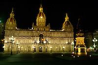 Spanien, Galicien, La Coruña, Rathaus