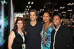 "General Hospital Michael Easton (One Life To Live, Port Charles, Days of Our Lives) and fans at the New York Comic Con 2012 to show fans and others ""Soul Stealer Collector's Edition"" which he cowrote and  was in a booth with Christopher Shy on October 13, 2012 at the Javits Center, New York City, New York. (Photo by Sue Coflin/Max Photos)"