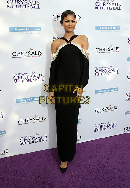 BRENTWOOD, CA June 03- Zendaya, at 16th Annual Chrysalis Butterfly Ball at Private Residence, California on June 03, 2017. Credit: Faye Sadou/MediaPunch<br /> CAP/MPI/FS<br /> &copy;FS/MPI/Capital Pictures