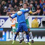 Fussball Bundesliga, Saison 2008/2009: Hoffenheim - SV Werder Bremen