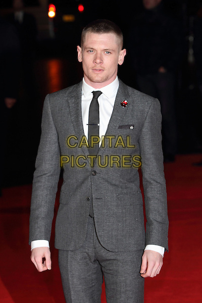LONDON, ENGLAND - NOVEMBER 25: Jack O'Connell attends the UK Premiere of 'Unbroken' at Odeon Leicester Square on November 25, 2014 in London, England<br /> CAP/ROS<br /> &copy;Steve Ross/Capital Pictures