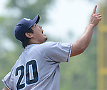 Daisuke Matsuzaka (Clippers),<br /> JUNE 11, 2013 - MLB :<br /> Daisuke Matsuzaka of the Columbus Clippers during minor's International League (Triple-A) baseball game against the Gwinnett Braves at Coolray Field in Lawrenceville, Georgia, United States. (Photo by AFLO)