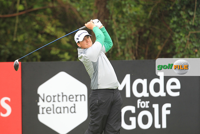 Colm Campbell (AM)(IRL) during Thursday's Round 1 ahead of the 2016 Dubai Duty Free Irish Open Hosted by The Rory Foundation which is played at the K Club Golf Resort, Straffan, Co. Kildare, Ireland. 19/05/2016. Picture Golffile | TJ Caffrey.<br />