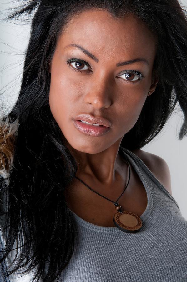 Portrait of young Hispanic Model.