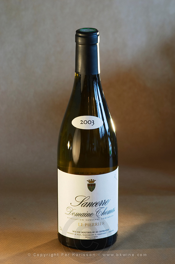Sancerre Domaine Thomas, le Pierrier. Loire, France