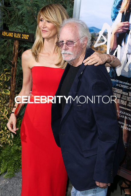 BEVERLY HILLS, CA, USA - NOVEMBER 19: Laura Dern, Bruce Dern arrive at the Los Angeles Premiere Of Fox Searchlight Pictures' 'Wild' held at the AMPAS Samuel Goldwyn Theater on November 19, 2014 in Beverly Hills, California, United States. (Photo by Xavier Collin/Celebrity Monitor)
