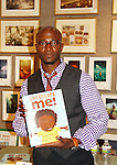 "Taye Diggs (Guiding Light ""Adrian Sugan Hill"", Private Practice, Rent) is the author of Chocolate Me! at a launch party to celebrate their first picture book together on September 28, 2011 at Books of Wonder, New York City, New York. Taye read the book to the audience. (Photo by Sue Coflin/Max Photos)"