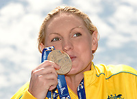 13th Fina World Championships From 17th to 2nd August 2009.Roma 21th July 2009 -.Opne Water Swimming 5Km - Nuoto Acque Libere 5Km.Melissa GORMAN Gold Medal (AUS).photo: Roma2009.com/InsideFoto/SeaSee.com .Foto Andrea Staccioli Insidefoto