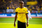 11.05.2019, Signal Iduna Park, Dortmund, GER, 1.FBL, Borussia Dortmund vs Fortuna Düsseldorf, DFL REGULATIONS PROHIBIT ANY USE OF PHOTOGRAPHS AS IMAGE SEQUENCES AND/OR QUASI-VIDEO<br /> <br /> im Bild | picture shows:<br /> Einzelaktion Manuel Akanji (Borussia Dortmund #16), <br /> <br /> Foto © nordphoto / Rauch