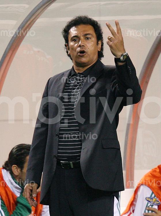 Fussball International Gold Cup Halbfinale  Guadeloupe 0-1 Mexico MEX Trainer Hugo Sanchez