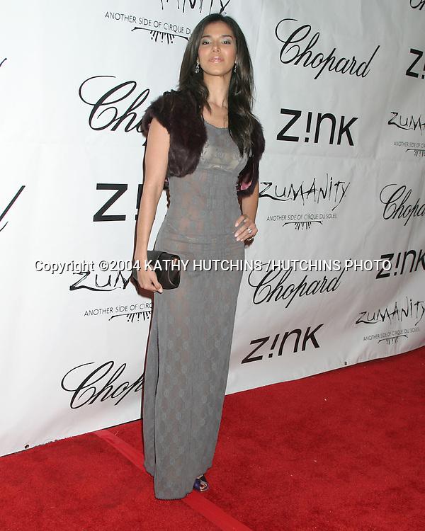 ©2004 KATHY HUTCHINS /HUTCHINS PHOTO.ZINK MAGAZINE PARTY.BLISS.LOS ANGELES, CA.OCTOBER 29, 2004..ROSELYN SANCHEZ