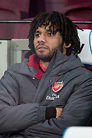 Mohamed Elneny of Arsenal ahead of the Premier League match between West Ham United and Arsenal at the Olympic Park, London, England on 13 December 2017. Photo by Andy Rowland.