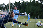 CARY, NC - OCTOBER 06: UNC's Zach Wright. The University of North Carolina Tar Heels hosted the Wake Forest University Demon Deacons on October 6, 2017 at Koka Booth Field at WakeMed Soccer Park in Cary, NC in a Division I college soccer game.