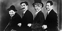 Animal Crackers (1930)<br /> Promo shot of Groucho Marx, Chico Marx, Harpo Marx &amp; Zeppo Marx<br /> *Filmstill - Editorial Use Only*<br /> CAP/KFS<br /> Image supplied by Capital Pictures