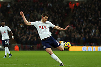 Jan Vertonghen of Tottenham during Tottenham Hotspur vs West Ham United, Premier League Football at Wembley Stadium on 4th January 2018