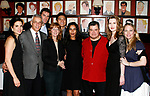 Laura Koffman, Mark LaMura. Patrick Boll, Pamela Hall (Director), Paolo Maontalban (Producer), Sarita Choudhury, Michael Badalucco, Myra Bairstow (Playwright) & Sarah Wynter<br />attending the Opening Night Performance of THE RISE OF DOROTHY HALE at the St. Lukes Theatre with an after party at Sardi's Restaurant in New York City.<br />September 30, 2007