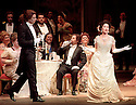 1999 - LA TRAVIATA - Alfredo (David Miller) and Violetta (Elizabeth Futral) meet at an elegent parisian party in Act 1 of Opera Pacific's La Traviata.