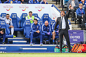 9th September 2017, King Power Stadium, Leicester, England; EPL Premier League Football, Leicester City versus Chelsea; Antonio Conte Manager of Chelsea shouts loudly to his players