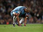 Vincent Kompany of Manchester City during the English Premier League match at The Etihad Stadium, Manchester. Picture date: April 27th, 2016. Photo credit should read: Lynne Cameron/Sportimage