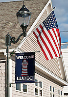 Town of Lubec, Maine. Eastern most point in the USA.