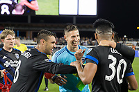 SAN JOSE, CA - MARCH 11, 2017:  San Jose Earthquakes vs Vancouver Whitecaps FC at Avaya Stadium.