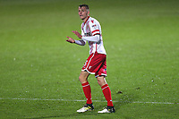 Ben Wilmot of Stevenage during Stevenage vs Brighton & Hove Albion Under-21, Checkatrade Trophy Football at the Lamex Stadium on 7th November 2017