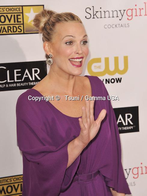 Molly Simms  at the 18th Ann. Critics Choice Awards 2013 at the Barker Hangar in Santa Monica.